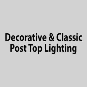 Decorative/Classic Post Top
