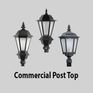 Commercial Post Top